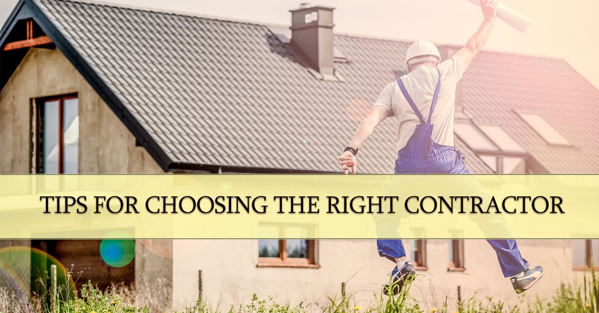 Tips for Choosing the Right Contractor, Wright Construction, Murfreesboro TN